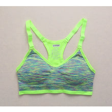 Load image into Gallery viewer, Ladies Women Padded Sling Sports Bra Top Vest Gym Fitness Yoga Running Jogging