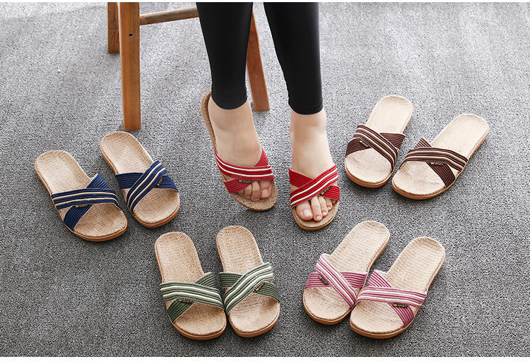 Women's Soft Hemp Sandals ~ 2 Styles ~ 5 Colors