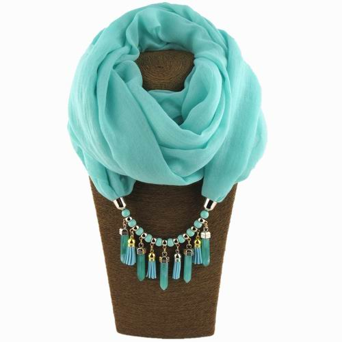Solid Color Necklace Scarf