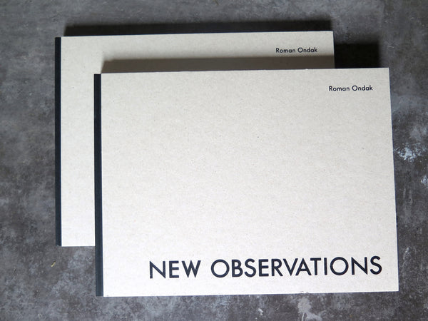new observations