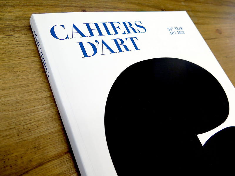 cahiers dárt 36th year Nº1 2012
