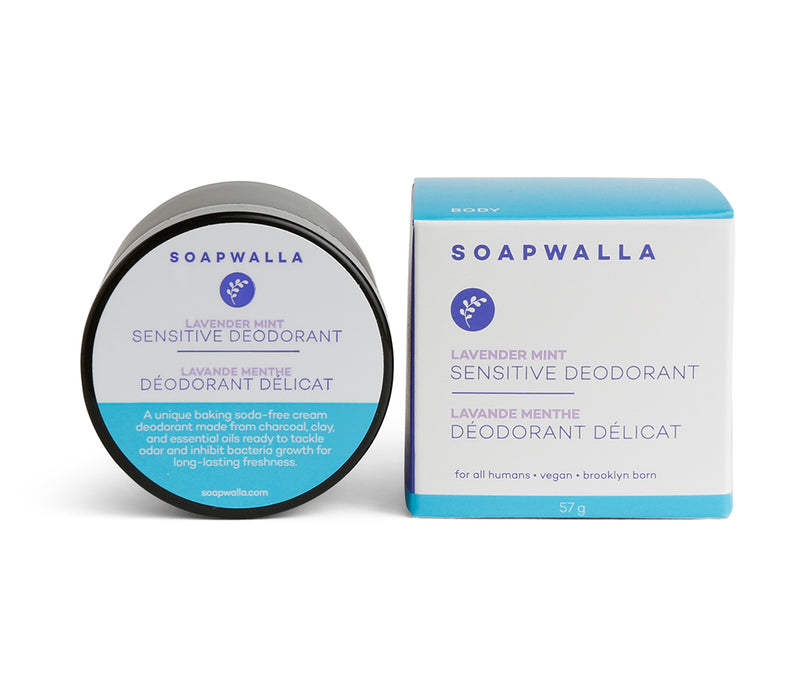Sensitive Deodorant Cream - Lavender Mint