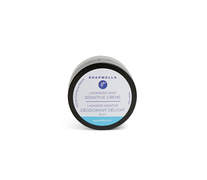 Sensitive Deodorant Cream - Lavender Mint (Travel)