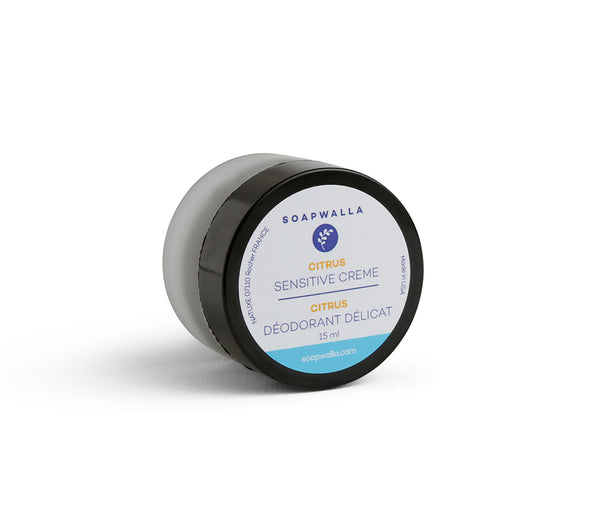 Sensitive Deodorant Cream - Citrus (Travel)