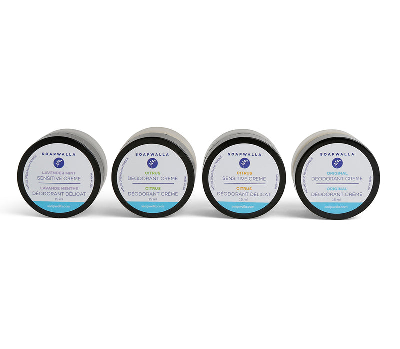 Deodorant Cream Quartet (Travel)
