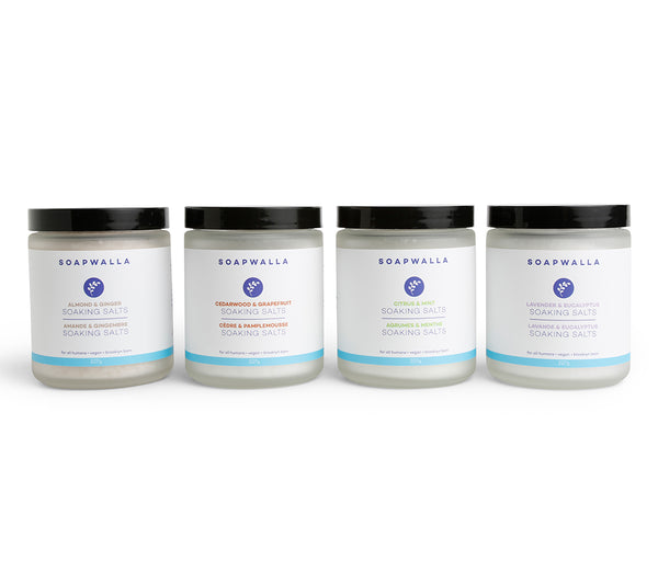 Soaking Salts Quartet
