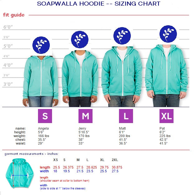 LIMITED EDITION: Soapwalla hoodie
