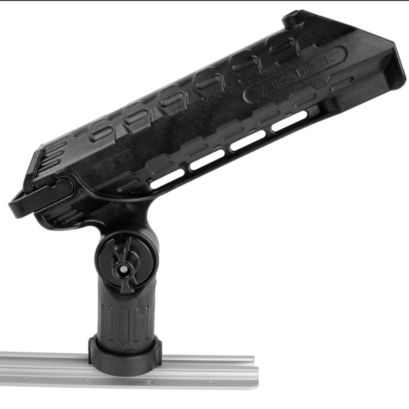 YakAttack AR Tube™ Rod Holder with Track Mounted LockNLoad™ Mounting System (4408673435712)