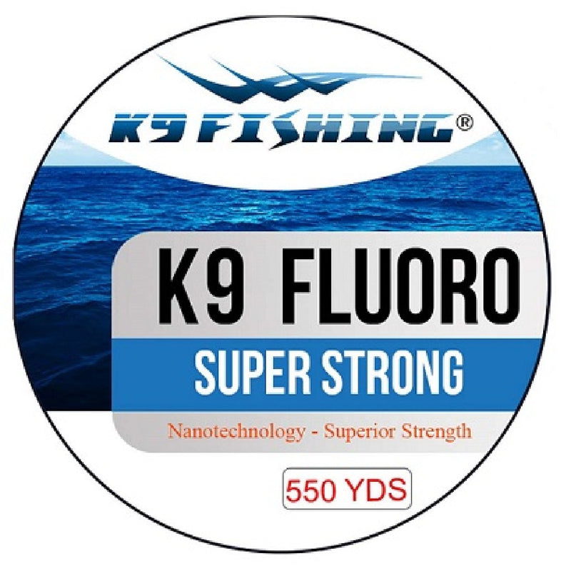K9 Fluoro Clear 550 Yard Spool