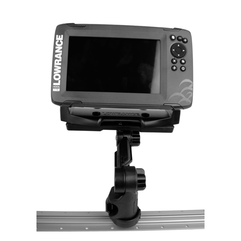 Rectangular Fish Finder Mount with Track Mounted LockNLoad™ Mounting System (4442522320960)