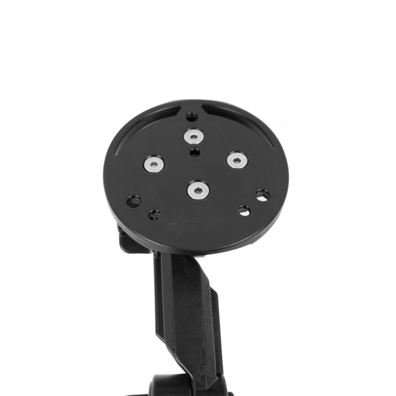 YakAttack Round Base Fish Finder Mount with Track Mounted LockNLoad™ Mounting System (4436153040960)