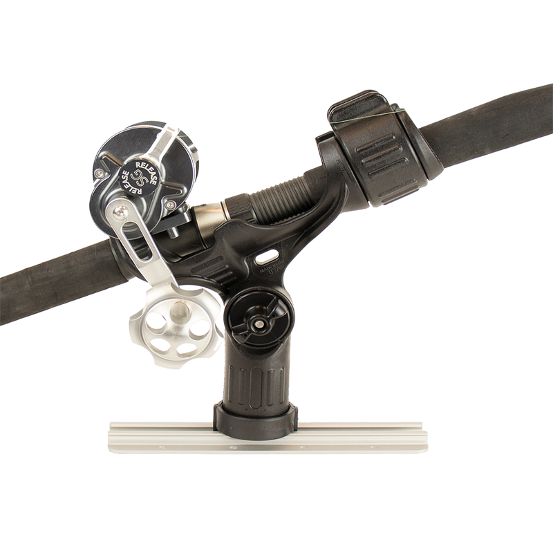 YakAttack Omega™ Rod Holder with Track Mounted LockNLoad™ Mounting System (4392406515776)