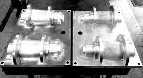 Fully Machined Aluminum Disa Forma Plates