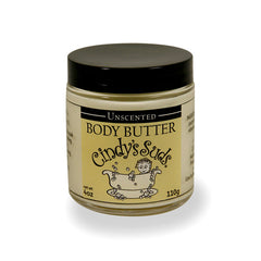 100% natural unscented body butter preservative free