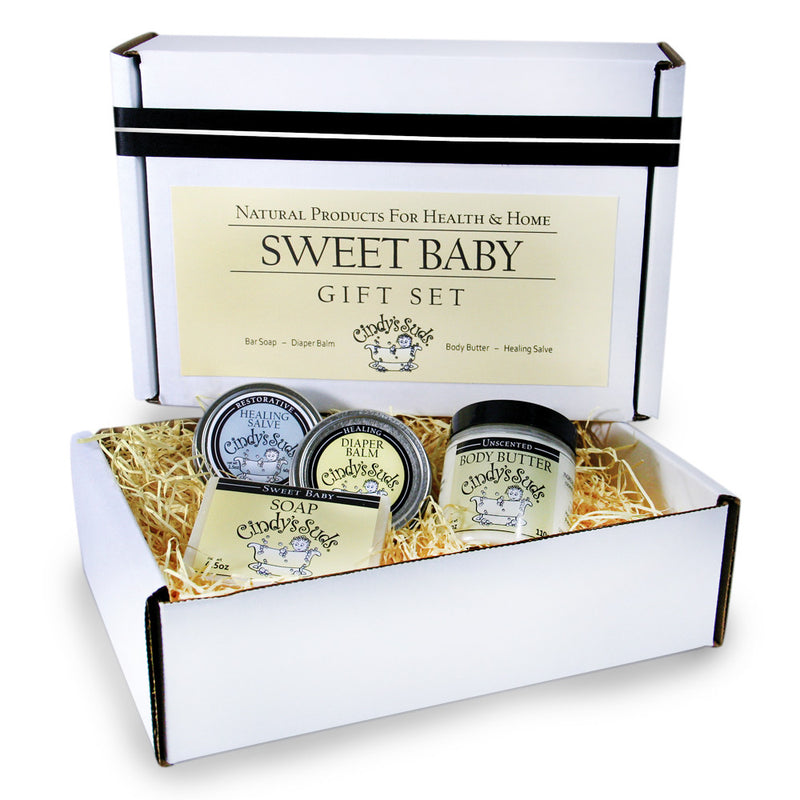 Cindy's Suds - Sweet Baby Gift Set