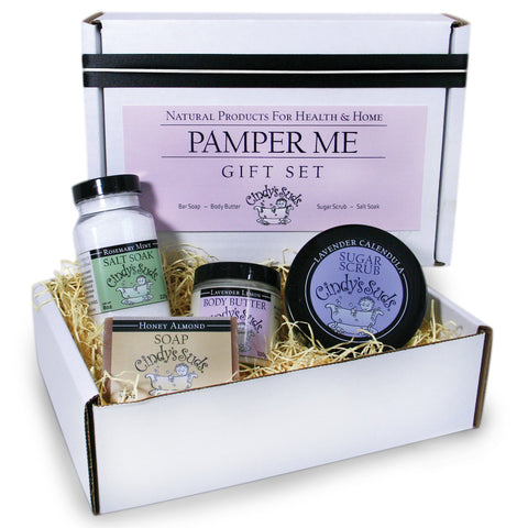 Gifts cindyssuds cindys suds gift box pamper me negle Image collections