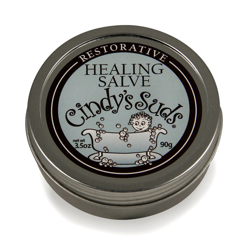 100% natural restorative healing salve 3.5 oz tin