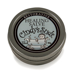 100% natural restorative healing salve 1.5 oz tin