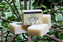 100% natural handmade sweet baby unscented soap