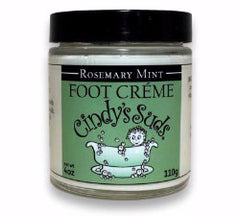 Cindy's Suds Rosemary Mint Foot Creme