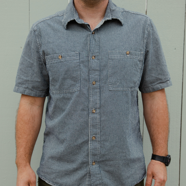 Short Sleeve Railroad Shirt