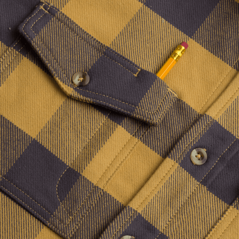 The Oak Ultra Heavy Stretch Flannel