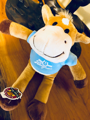 """Tuck"" the Horse - Stuffed Animal"
