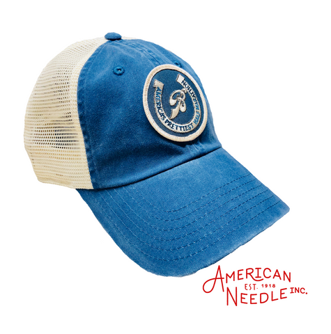 Old School Trucker by American Needle (Blue)