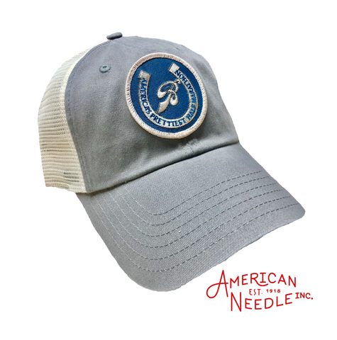Old School Trucker by American Needle (Gray)
