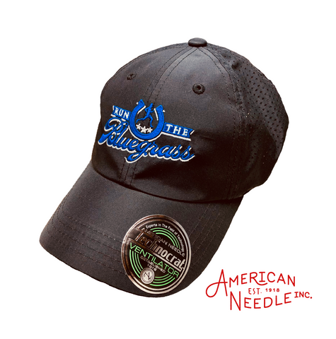 """Ventilator"" Running Hat by American Needle (Black)"