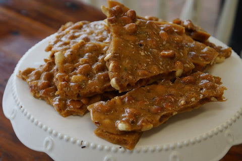 Pecan Coconut Brittle