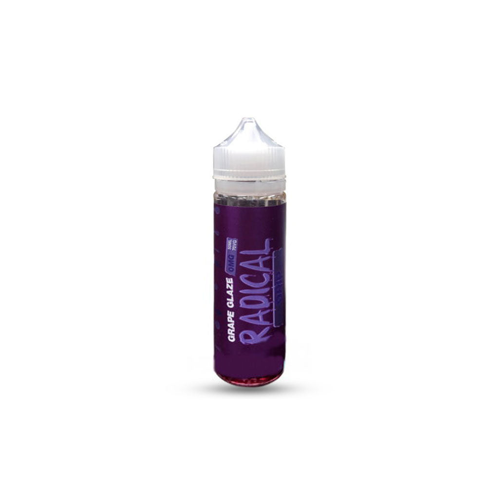 Grape Glaze 50ml Shortfill E-Liquid Radical Drip