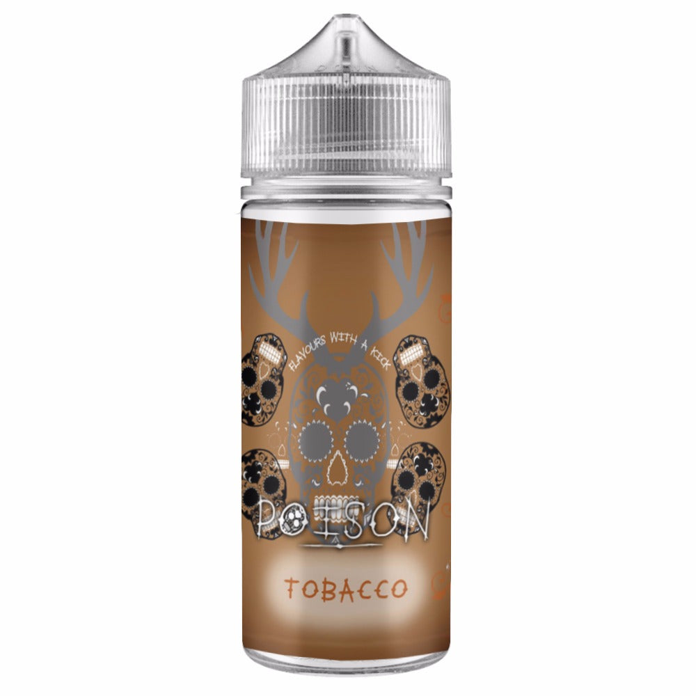 Tobacco 100ml Shortfill Eliquid by Poison