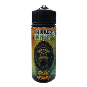 Tropic Monkey Shortfill 100ml Eliquid by Wicked Monkeys