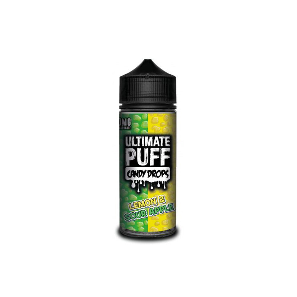 Candy Drops Lemon & Sour Apple 120ML Shortfill by Ultimate Puff