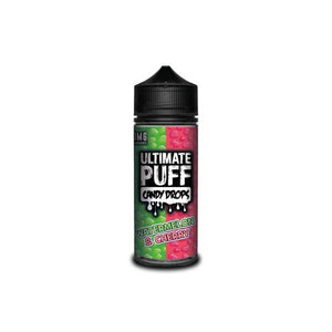 Candy Drops Watermelon & Cherry 120ML Shortfill by Ultimate Puff