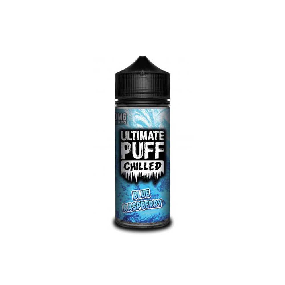 Chilled Blue Raspberry 120ML Shortfill by Ultimate Puff