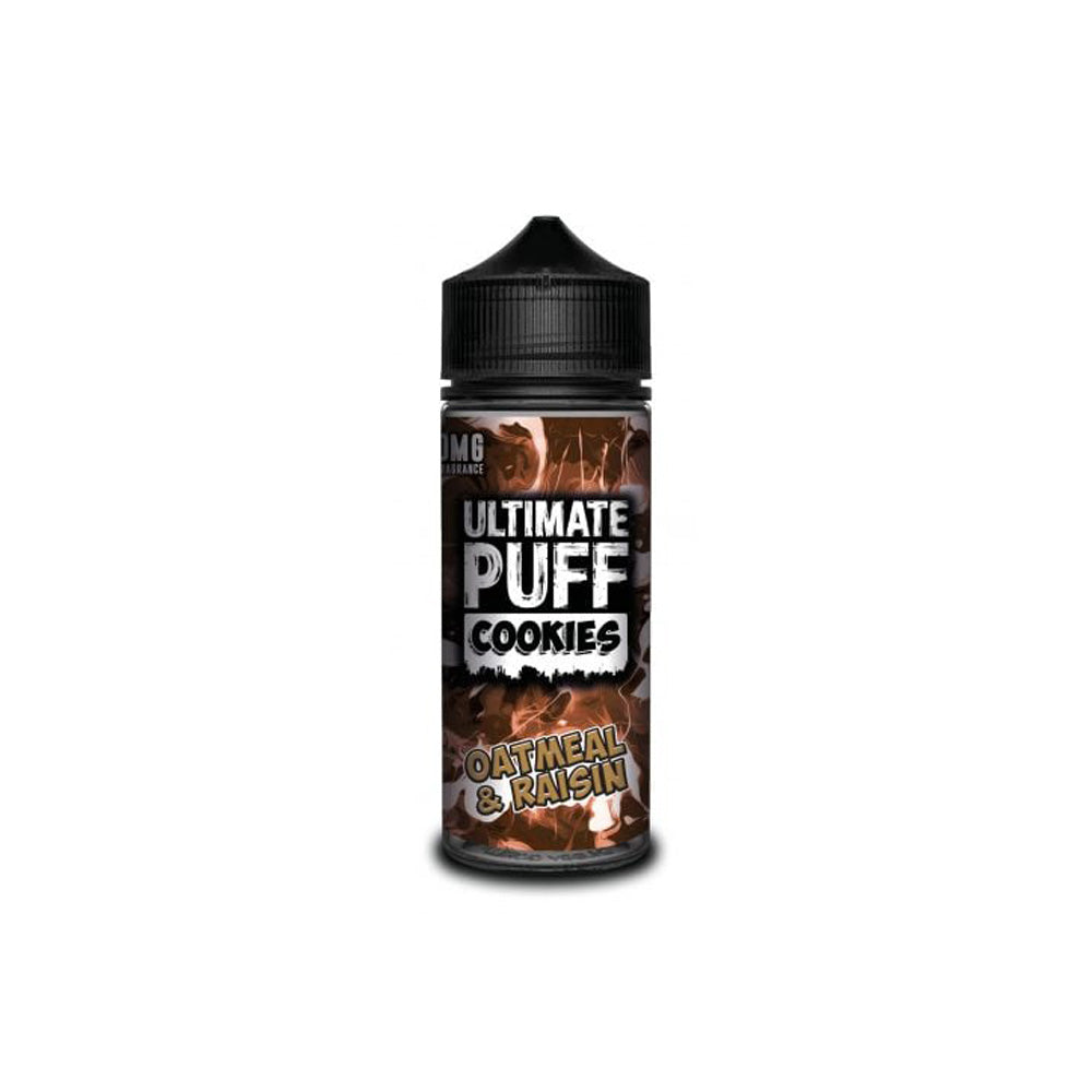 Cookies – Oatmeal & Raisin 120ml Shortfill by Ultimate Puff