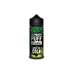 Soda Lemon/Lime Cola 120ML Shortfill by Ultimate Puff