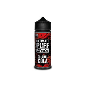 Soda Original Cola 120ml Shortfill by Ultimate Puff