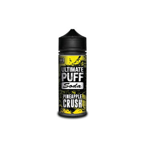 Soda Pineapple Crush 120ml Shortfill by Ultimate Puff