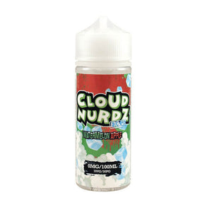 Watermelon Apple Iced Shortfill 100ml Eliquid by Cloud Nurdz