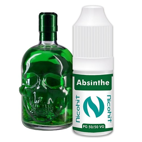 Absinthe 50/50 E-Liquid Nicohit 10 X 10ml