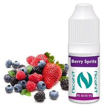 Load image into Gallery viewer, Berry Spritz 50/50 E-Liquid Nicohit 10 X 10ml