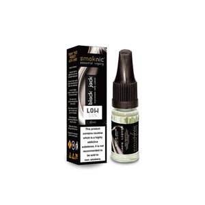 Black Jack 10 X 10ml E-Liquid by Smoknic