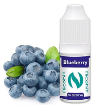Load image into Gallery viewer, Blueberry 50/50 E-Liquid Nicohit 10 X 10ml