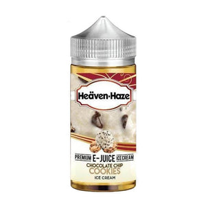 Chocolate Chip Cookies Ice Cream Shortfill 100ml Eliquid by Heaven Haze