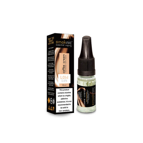 Cream Coffee 10 X 10ml E-Liquid by Smoknic