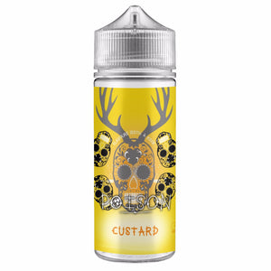 Custard 100ml Shortfill Eliquid by Poison