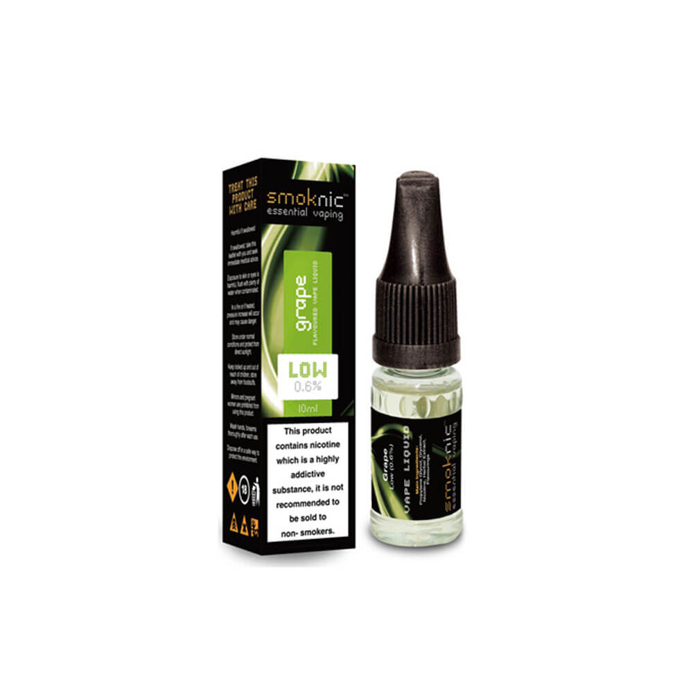 Grape 10 X 10ml E-Liquid by Smoknic